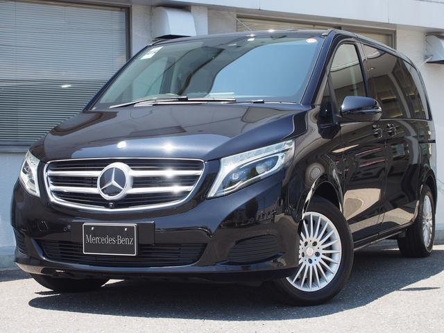 メルセデス・ベンツ V220d リアエンターテイメント装着済 認定中古車2年保証
