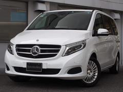 M・ベンツV220d レザーP 新車保証継承