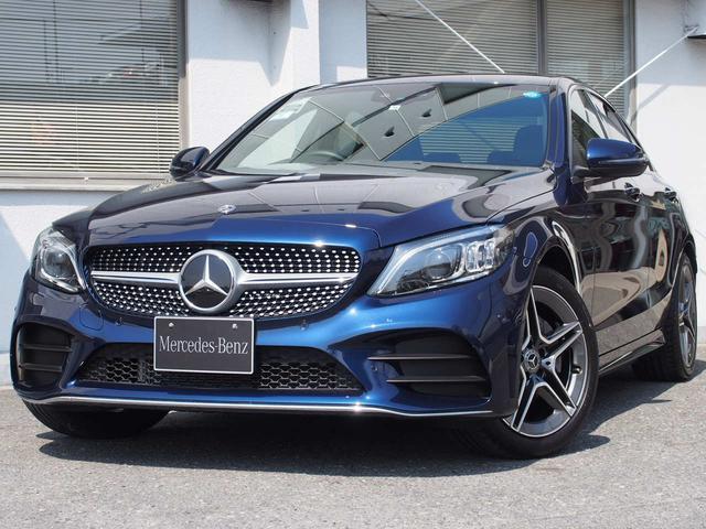 メルセデス・ベンツ C220dAV AMGラインセーフティP新車保証継承デモカー