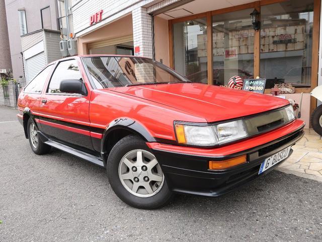 トヨタ 後期型GT-APEX RECAROシート 室内保管車 ETC