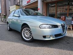 アルファ156スポーツワゴン2.0 JTS セレスピード Nuovola Blue