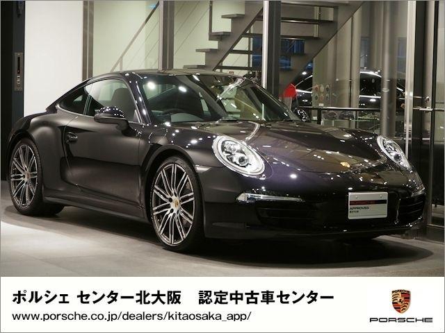 ポルシェ 911カレラ4ブラックエディション 2016年モデル