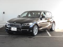 BMW118i スタイル パーキングサポート 試乗車 禁煙車