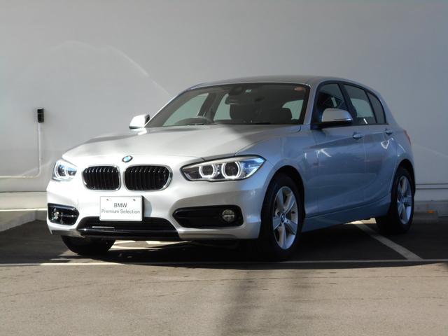 BMW 118i スポーツ パーキングサポート 試乗車 禁煙車