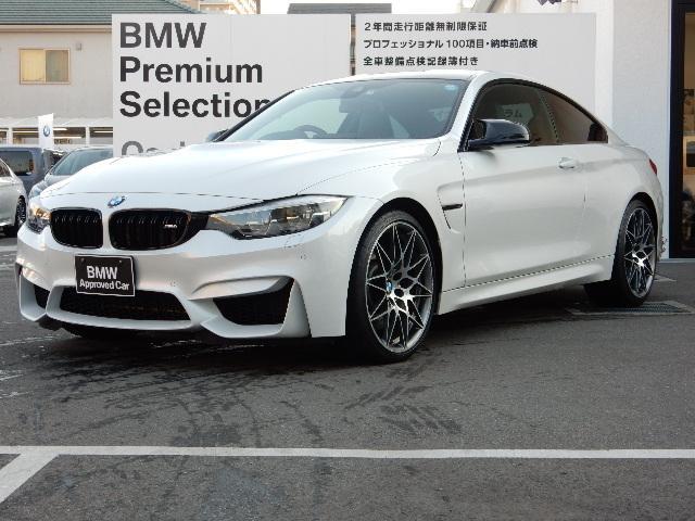 BMW M4クーペ コンペティションパッケージ装着車 ワンオーナー