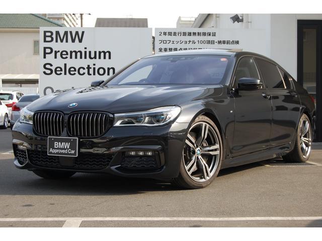 BMW 750Li Mスポーツ リアモニター サンルーフ