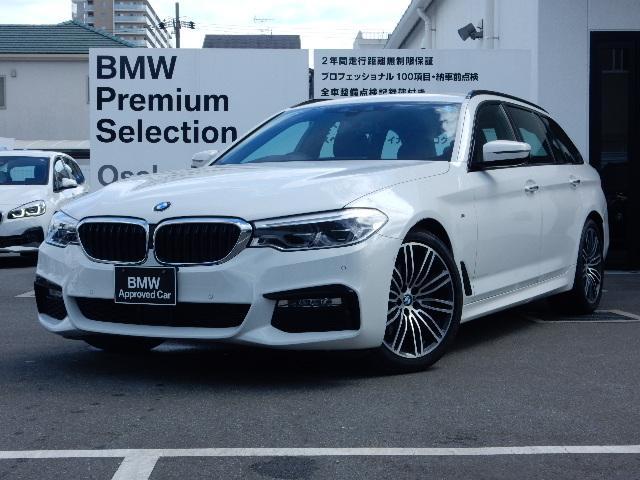 BMW 523dツーリング Mスポーツ 純正HDDナビ LED