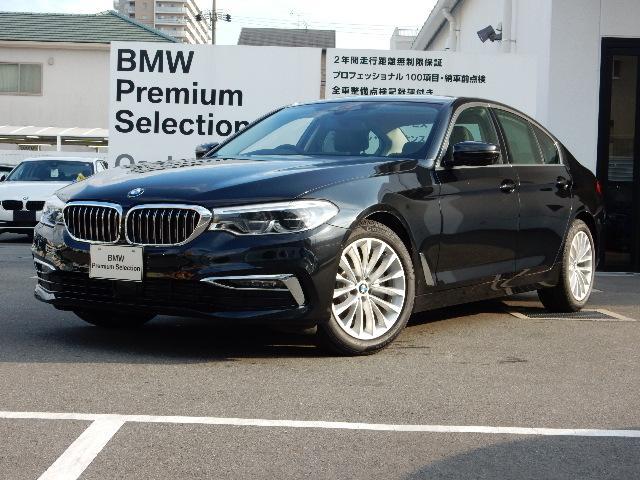 BMW 523d ラグジュアリー ブラックレザー 18インチAW
