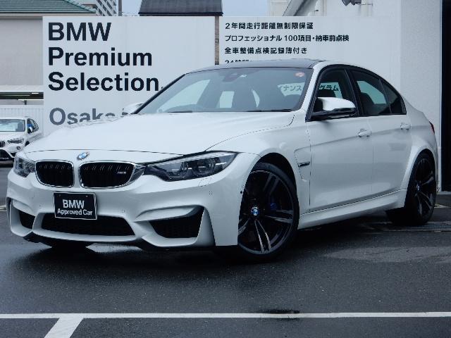 BMW M3 Mドライブロジック ブラックレザー 19インチアルミ