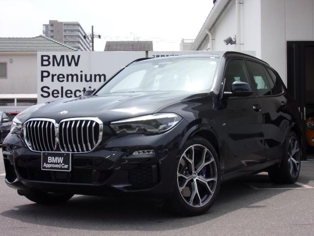 BMW xDrive 35d Mスポーツ 弊社デモカー パノラマガラスサンルーフ エアサスペンション ウッドパネル ACC LEDヘッドライト 黒革 シートヒーター 純正21インチAW
