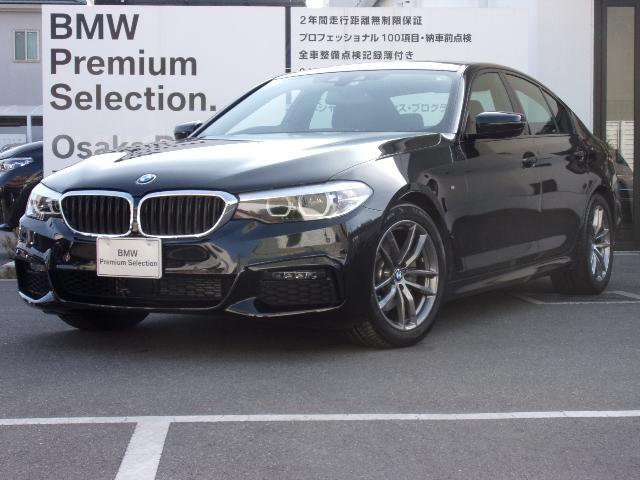 BMW 523d xDrive Mスピリット アルカンターラ/クロス イノベーションパッケージ ヘッドアップディスプレイ ワイヤレスチャージング ジェスチャーコントロール ACC 18インチホイール リアビューカメラ 前後PDC 弊社デモカー