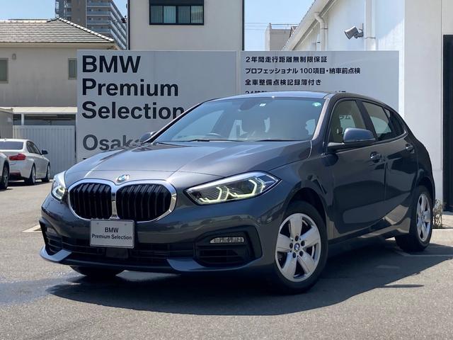 BMW 118i 弊社管理デモカー バックカメラ PDC LEDヘッドライト オートライト 純正iDriveナビゲーション 純正16インチAW ランフラットタイヤ
