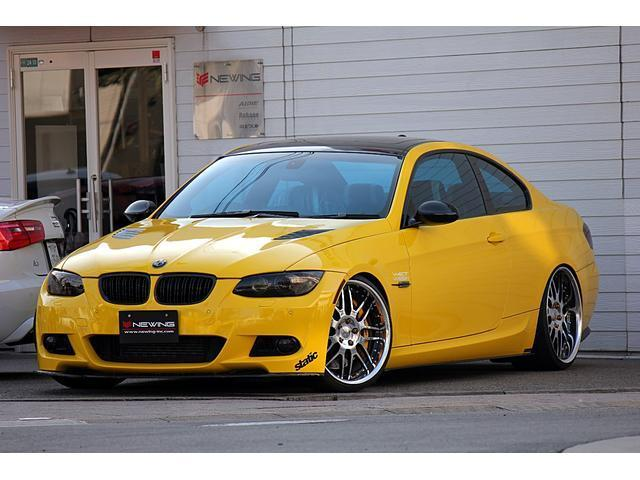 BMW 335i Mスポ 内装張替 前後Brembo 車高調マフラー