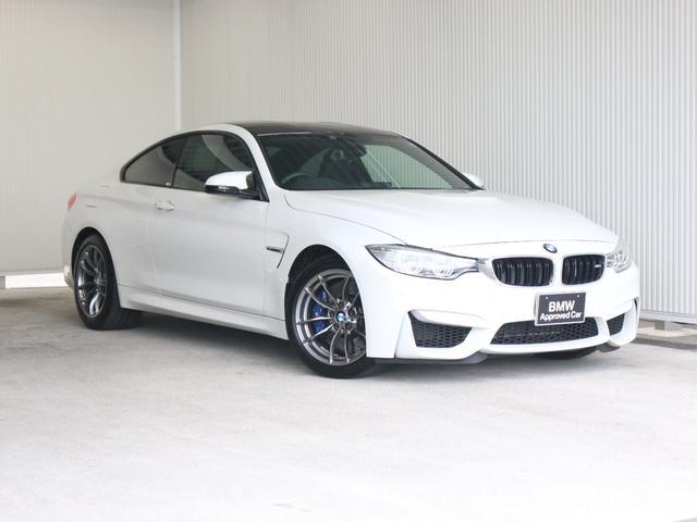 BMW M4クーペワンオーナー地デジBKレザークルコン衝突軽減LED