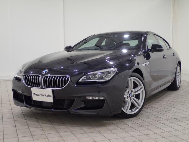 BMW 640iグランクーペ Mスポーツ ACC 黒レザー  SR
