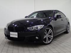 BMW420iグランクーペ Mスポ 白革 SR ACC ワンオナ