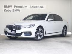 BMW740eアイパフォーマンス Mスポ ワンオナ 黒革 20AW