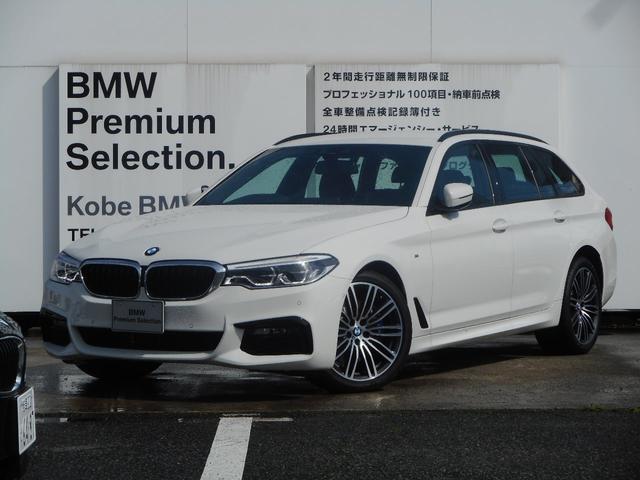 BMW 530iツーリングMスポーツ弊社デモカー黒革HUD地デジ