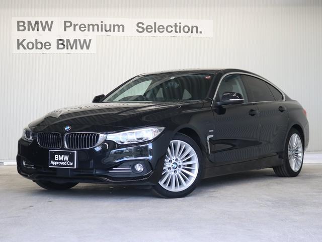 BMW 420iグランクーペ ラグジュアリー ブラックレザーシート