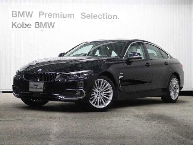 BMW 420iグランクーペ ラグジュアリー弊社デモカー白革ACC