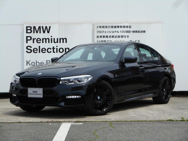 BMW 530i Mスポーツ ブラックキドニーグリルブラックホイール