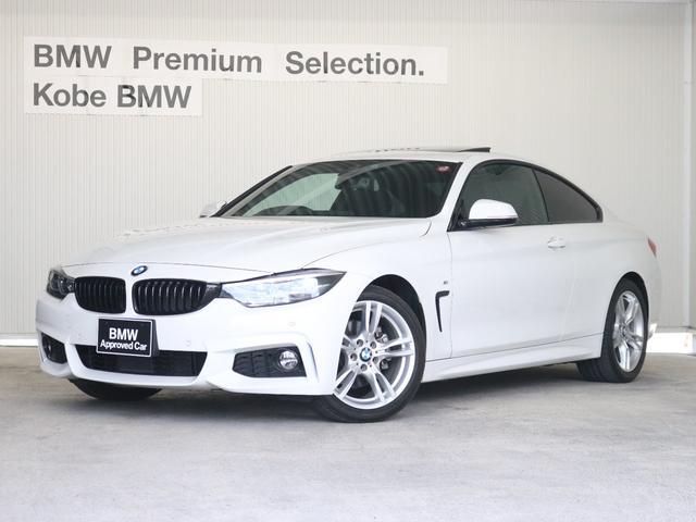 BMW 420iクーペMスポーツ前タイヤ2本新品サンルーフレザシート