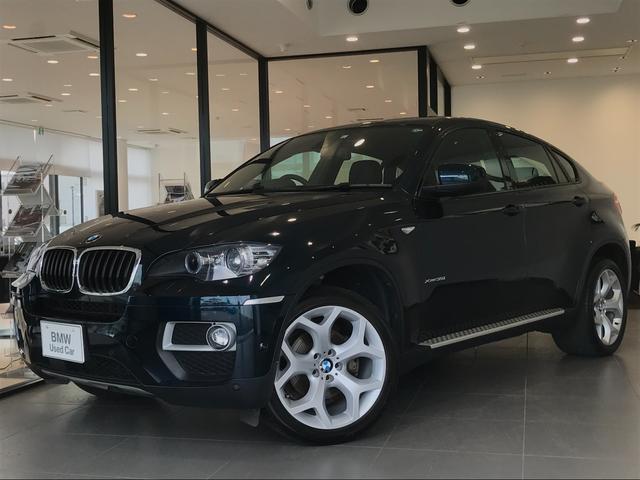 BMW X6 xDrive 35i ブラックレザーシート アドバンスドアクティブセーフティーPKG サイドビューカメラ ノンスモーカーPKG