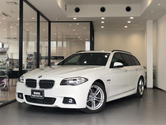 BMW 5シリーズ 523dツーリング Mスポーツ 1年間走行距離無制限保証 アクティブクルーズコントロール キセノンヘッドライト 純正HDDナビ バックカメラ 前後コーナーセンサー ミラーETC パドルシフト 地デジ 電動リアゲート 純正18AW