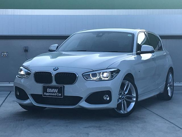 BMW 1シリーズ 118d Mスポーツ 認定保証 ワンオーナー オプション18インチアルミホイール コンフォートパッケージ パーキングサポート 純正HDDナビ バックカメラ(リアPDC機能) LEDへッドライト