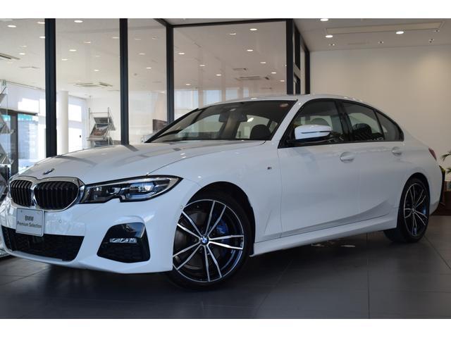 BMW 3シリーズ 320d xDriveMスポーツハイラインパッケージ 黒レザー ファストトラックパッケージ コンフォートパッケージ パーキングアシストプラス オプション19アルミホイール シートヒーター パワーシート アラウンドビューモニター 電動リアゲート 禁煙車