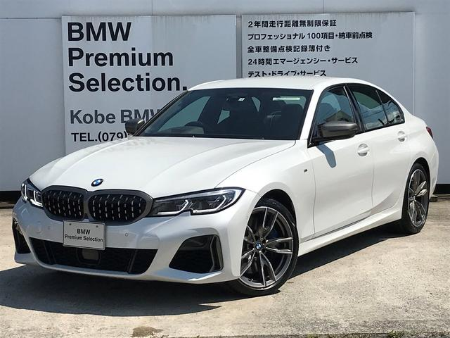 BMW M340i xDrive 黒革 シートヒーター LEDレーザーライト ハーマンカードンスピーカー アダプティブMサスペンション 19インチアルミホイール パーキングアシスト アクティブクルーズコントロール Mブレーキ