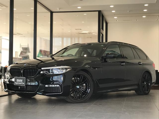 BMW 523dツーリングエディションミションインポッシブル アルカンターラクロスシート ブラックアウト ハーマンカードンスピーカー 19インチブラックアルミ ステアリングサポート 軽減ブレーキ車線逸脱防止 アダプティブLEDヘッドライト トップビューカメラ
