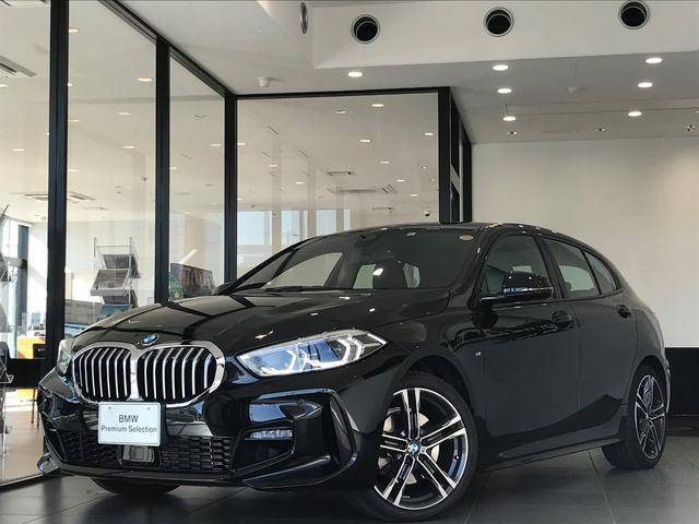 BMW 118i Mスポーツ 弊社デモカー コンフォートパッケージ ナビパッケージ 純正18インチアルミホイール 電動トランク アクティブクルーズコントロール バックカメラ 前後障害物センサー 衝突軽減ブレーキ スマートキー