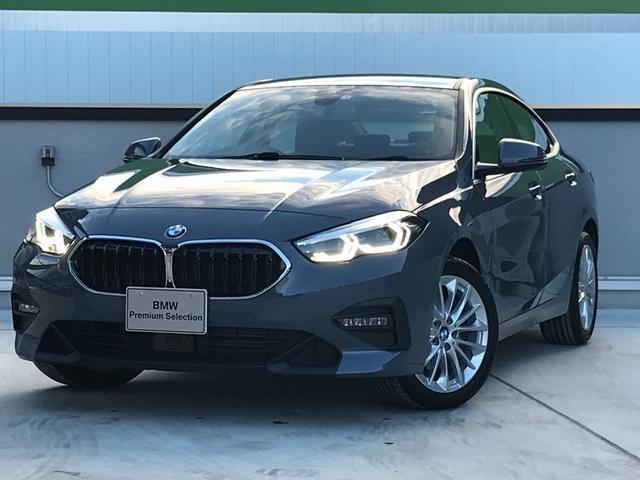 BMW 218dグランクーペ プレイEDジョイ+ハイラインP ナビパッケージ パーキングアシスト ドライビングアシスト ACC リバースアシスト 軽減ブレーキ車線逸脱防止 コンフォートアクセス  運転席電動シート リアビューカメラ LEDヘッドライト