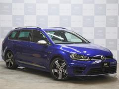 VW ゴルフRヴァリアントナビTVBカメ 禁煙 黒革 Pシートヒーター スマートキー
