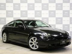 BMW645Ci右H黒革 Cセンサー19AWガラスR ノーマル車