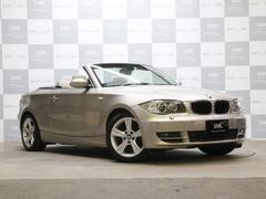 BMW120i カブリオレ 禁煙 純正HDDナビ ベージュレザー