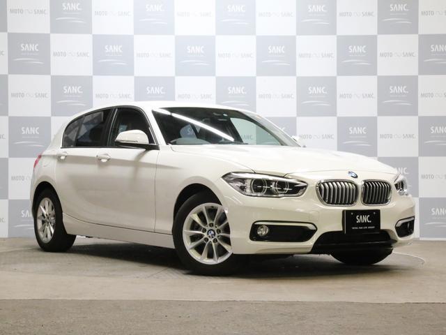 BMW 118iスタイル 禁煙 純正HDDナビバックカメラ クルコン