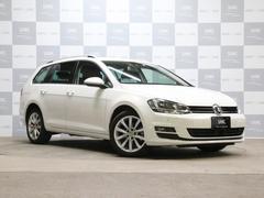 VW ゴルフヴァリアントTSIハイラインBMT 禁煙 ACC 自動ブレーキ 純正ナビ