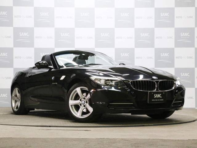 BMW Z4 sDrive23i ハイラインパッケージ ディーラー点検記録簿 H24-30 スペアキー 禁煙 黒革 フルセグTVナビ ドラレコ Bカメラ コーナーセンサー 純正アルミ キセノン