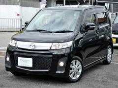 AZワゴンカスタムスタイルXT キセノン パドルシフト CDMD ETC 当社買取車