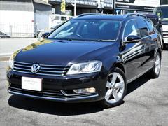 VW パサートヴァリアントTSIハイライン 正規D車 黒革 ナビ地デジBカメ ETC