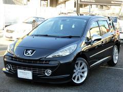プジョー 207SW GTi 正規D車 黒革 ナビ地デジ ETC Gルーフ