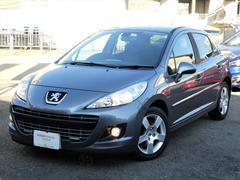 プジョー 207プレミアム 正規D車 ナビ地デジETCHID 買取車鑑定書付