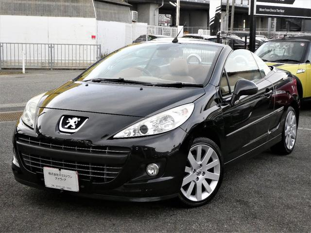 プジョー CC グリフ 正規D車 本革 ナビ地デジTVETC 電動OP