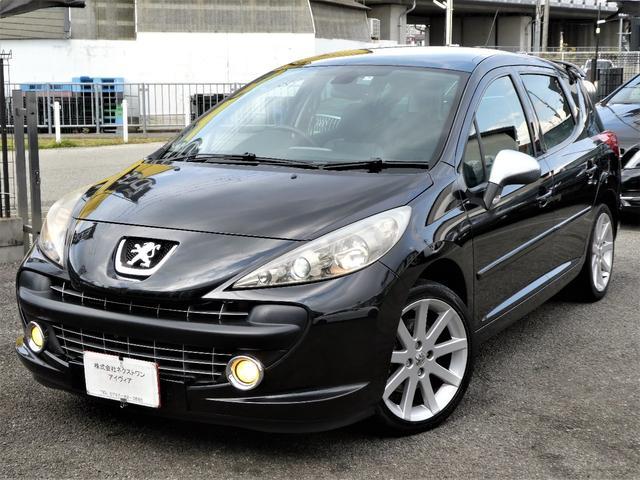 プジョー SW GTi 正規D車 黒革 HID 社外オーディオ