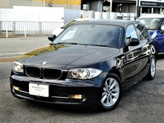 BMW 1シリーズ 116i 1年保証付/170項目 正規D車 社外ナビ地デジETC キセノン