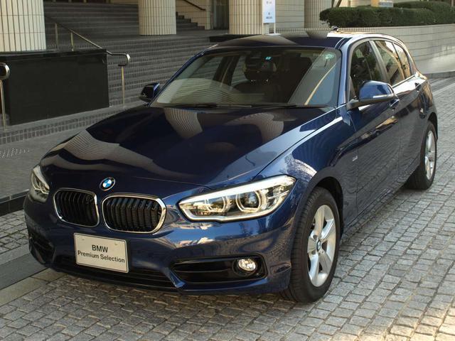 BMW 118d スポーツ 弊社デモカー パーキングサポート