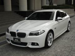 BMW523d Mスポーツ ワンオーナー 弊社下取車 レザーシート