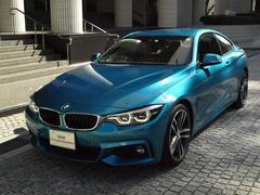 BMW420iクーペ Mスポーツ 登録済未使用車 レザーシート